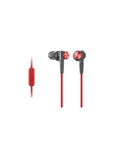 Sony Mdrxb50Apr.Ce7 - Sony Mdr-Xb50Ap Kulakiçi Kulaklık Kırmızı Kırmızı